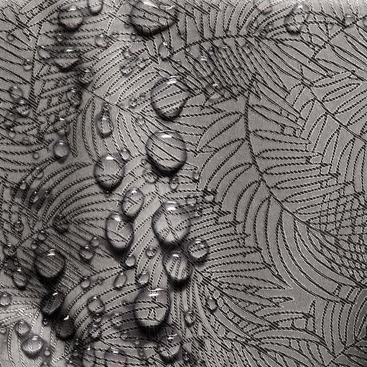 Скатерть AmeliaHome Gaia Cocoa, 110x110 см
