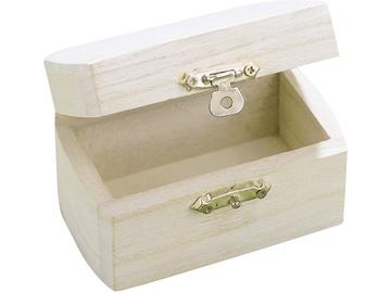 Medinė dekupažo dėžutė, 9 x 5,5 cm