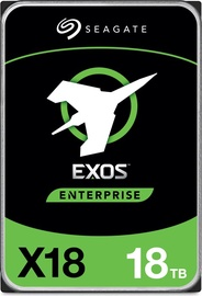 Serveri kõvaketas (HDD) Seagate Exos X18 ST18000NM004J, 256 MB, 18 TB