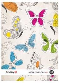 Bradley Painting Paper A4 40 Pages 4pcs