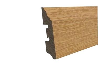 Skirting board 13-57, oak, 2,4m