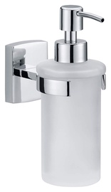 Tesa Klaam Soap Dispenser 12.5x7x17cm White Chrome