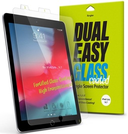 Ringke Dual Easy Glass Coated Flex Screen Protector For Apple iPad 9.7 2018/2017/Air/Air 2