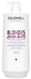 Шампунь Goldwell Dualsenses Blondes & Highlights Anti-Yellow, 1000 мл