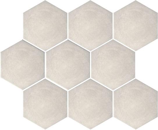 Akmens masės plytelės Turenne Light Grey, 12 x 10.4 cm