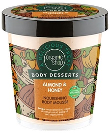 Organic Shop Nourishing Body Mousse Almond & Honey 450ml
