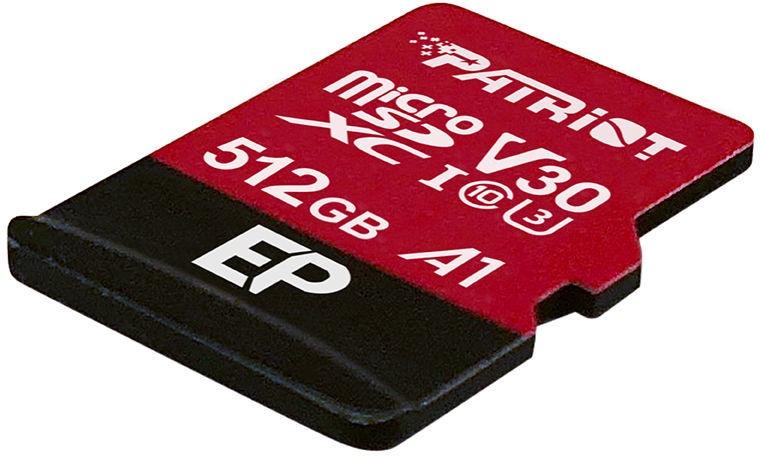 Карта памяти Patriot EP Series microSDXC, 512 GB