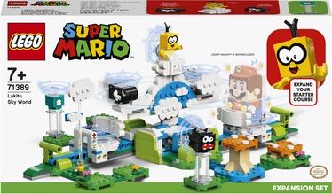 Конструктор LEGO Super Mario Дополнительный набор «Небесный мир лакиту» 71389, 484 шт.