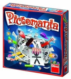 Dino Pictomania Drawing Game