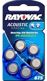 Varta Acoustic Special Button Battery PR44 6x