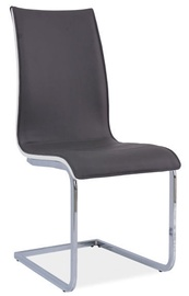 Signal Meble Chair H133 White Back Grey