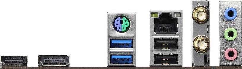 Mātesplate ASRock H410M-ITX/ac