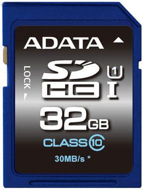 Adata 32GB SDHC Premier UHS-I U1 Class 10