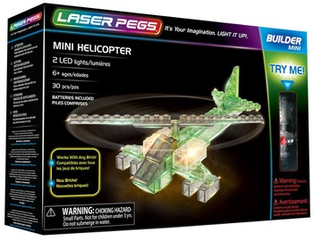 Laser Pegs Mini Helicopter
