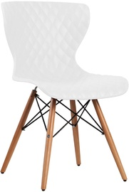 Home4you Office Chair Charles White 21021
