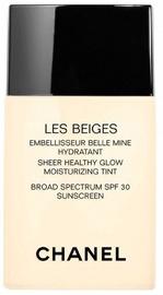 Tonizējošais krēms Chanel Les Beiges Sheer Healthy Glow Tinted Moisturizer Light, 30 ml