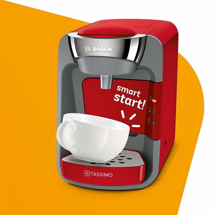 Kapsulas kafijas automāts Bosch TAS3203 Tassimo Suny Red
