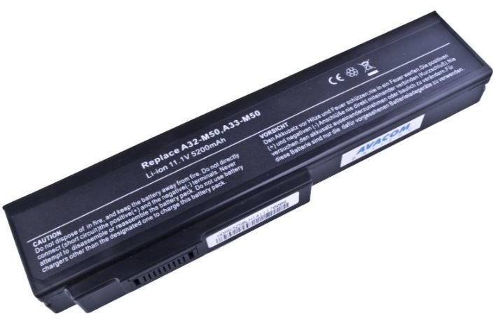 Avacom Battery For Asus 5200mAh/58Wh