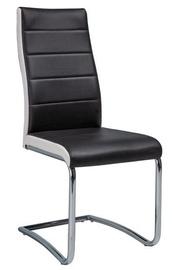 Valgomojo kėdė Signal Meble H353 White Black, 1 vnt.