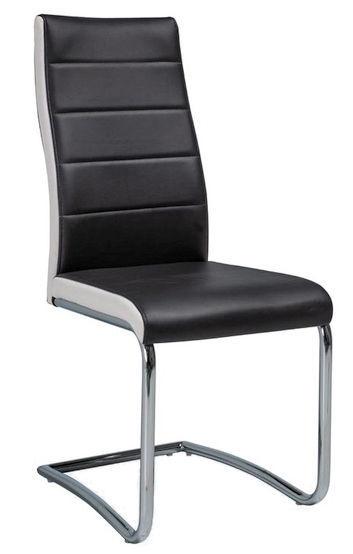 Стул для столовой Signal Meble H353 White Black, 1 шт.