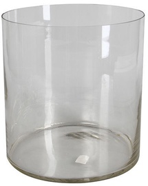Verners Cylindrical Vase 26x25cm Transparent
