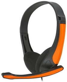 Ausinės FreeStyle FH4088O Universal Headset w/Microphone Black/Orange