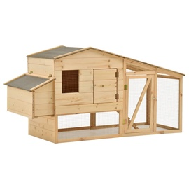 Клетка VLX Solid Pinewood Chicken Cage