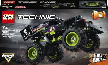 Конструктор LEGO Technic Monster Jam® Grave Digger® 42118, 212 шт.