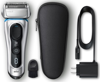 Braun Electric Foil Shaver Silver 8330s