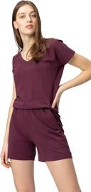 Audimas Soft Touch Modal Shorts Jumpsuit Fig M