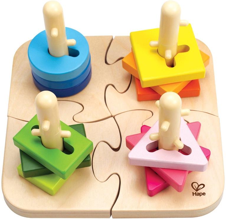 Dėlionė Hape Creative Peg Puzzle E0411