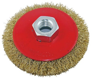 Ega M14 Brass Rotary Brush 100mm