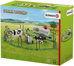 Schleich Cow Family On The Pasture 41428