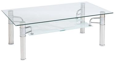 Kafijas galdiņš Signal Meble Reni B Transparent, 1200x650x550 mm
