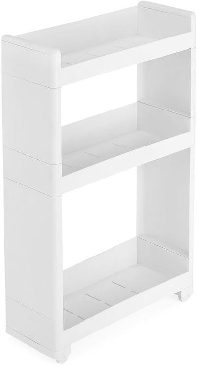 Songmics Storage Rack White 45x68.5cm