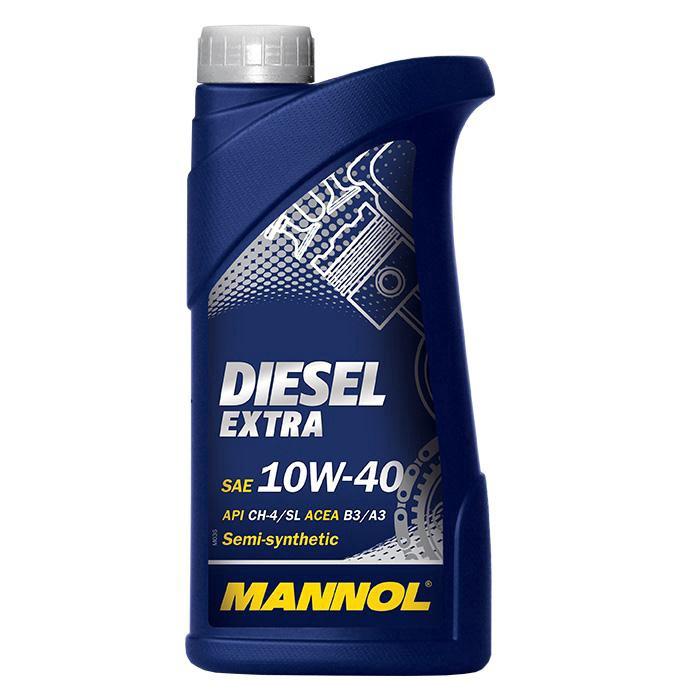 Машинное масло Mannol Diesel Extra 10W/40 Engine Oil 1l