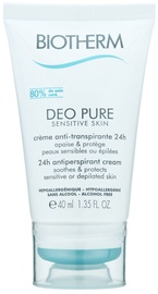 Biotherm Deo Pure Sensitive 40ml Cream Deodorant