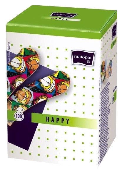 Matopat Happy Plaster 19x72mm 100pcs