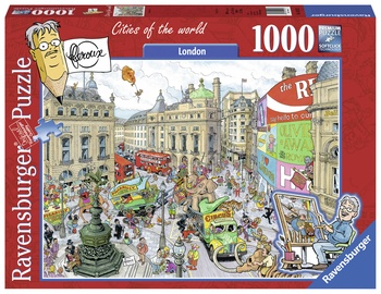 Ravensburger Puzzle Cities Of The World London 1000pcs 192137