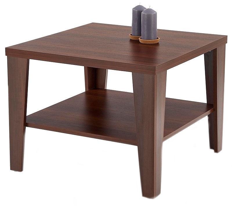 Kafijas galdiņš Halmar Manta, valriekstu, 700x700x470 mm