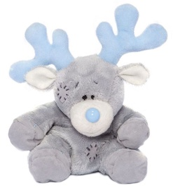 Carte Blanche My Blue Nose Friends Reindeer 10cm