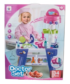 Žaislinis daktaro komplektas SN Doctor Set 513063669, nuo 3 m.