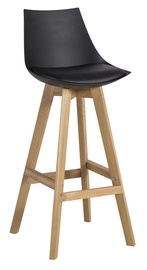 Home4you Sonja Bar Stool Black