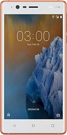 Nokia 3 2GB/16GB Dual Cooper White