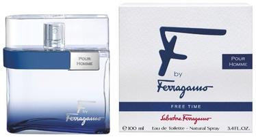 Salvatore Ferragamo F by Ferragamo Free Time 100ml EDT