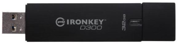 USB atmintinė Kingston IronKey, USB 3.0, 32 GB