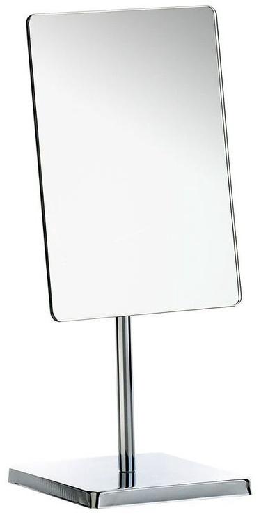 Axentia Cosmetic Mirror Rectangular With Base Silver