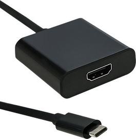 Juhe Qoltec USB-C to HDMI 4K Adapter Black
