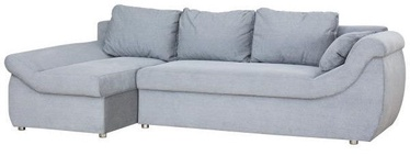 Bodzio Rojal Corner Sofa Left Velor Grey