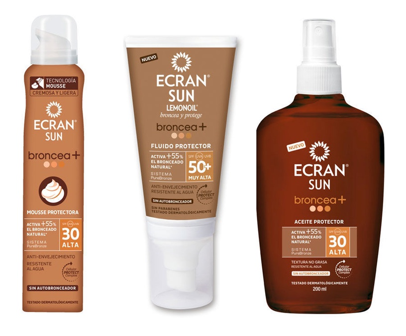 Ecran Sun Lemonoil Bronzing Face Cream SPF50 50ml